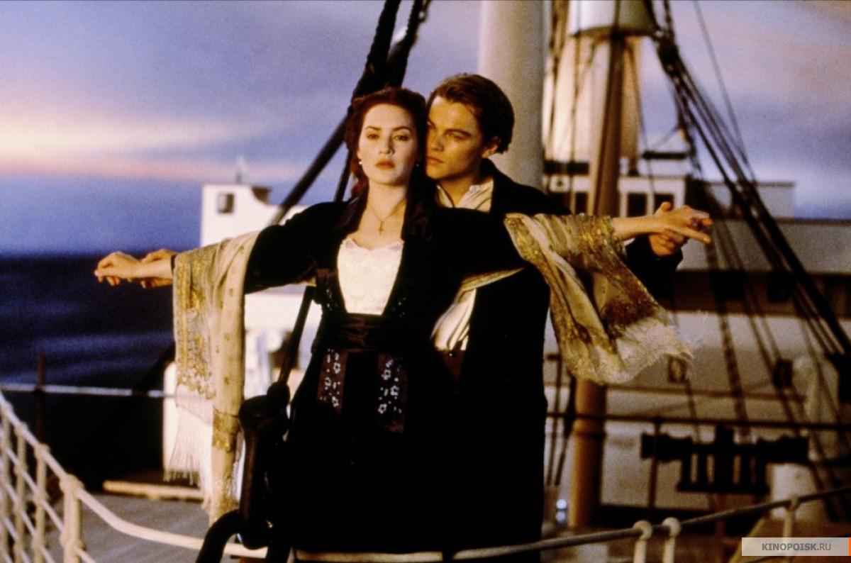 Кадры: Титаник