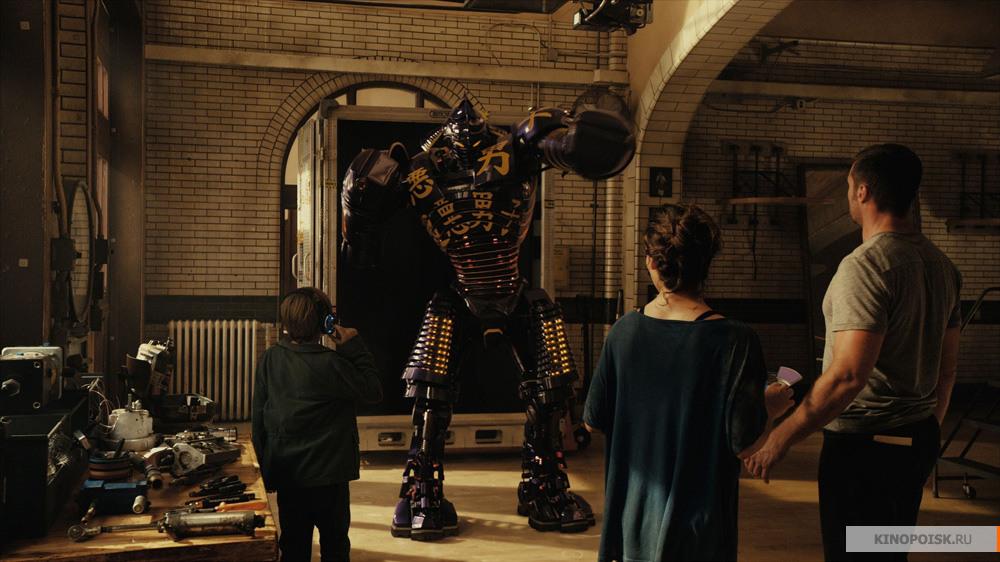 Кадры из фильма Живая сталь 2011