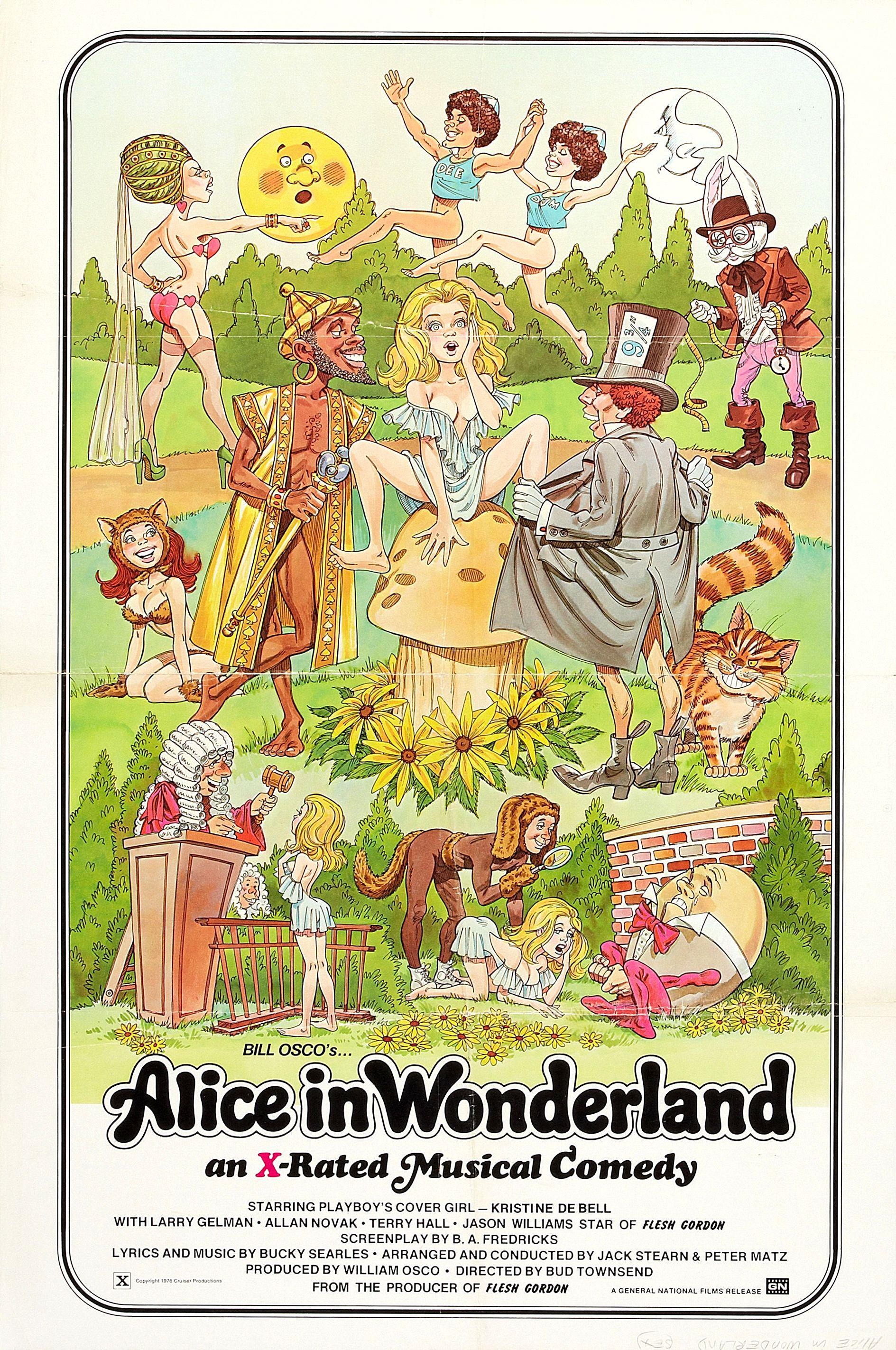 Alice in Wonderland An X-Rated Musical Fantasy (1976). режиссер Бад