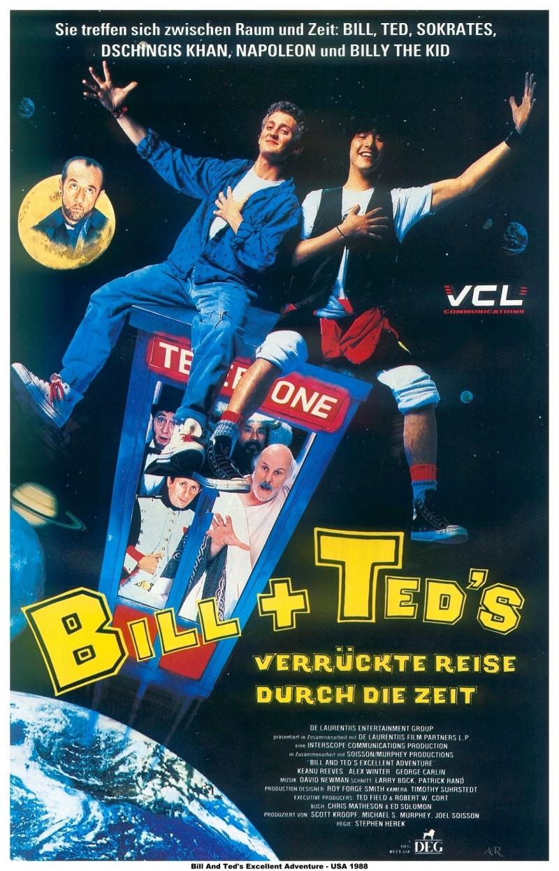 Фильм Невероятные приключения Билла и Теда смотреть онлайн бесплатно,  в хорошем качестве