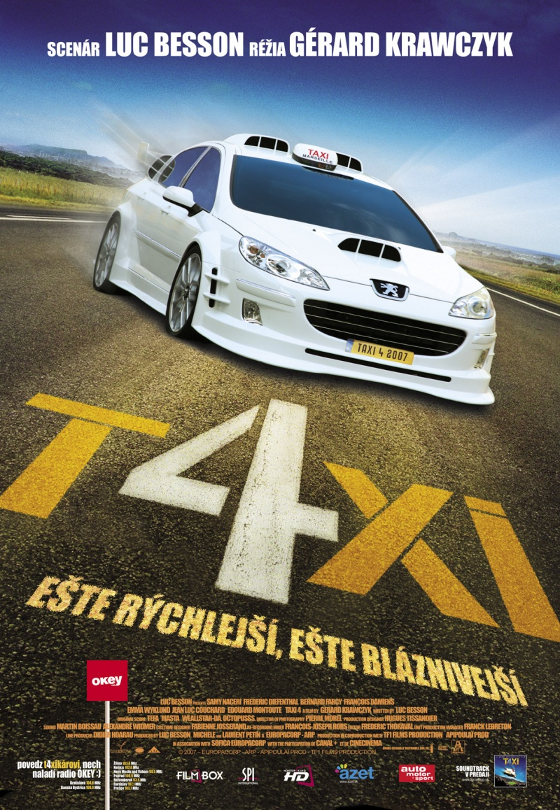 Понравился фильм Такси 4 / Taxi 4. Порекомендуй друзьям!  Такси 4 / Taxi 4...