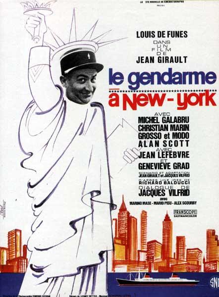 Фильм Жандарм в Нью-Йорке смотреть онлайн бесплатно в хорошем качестве