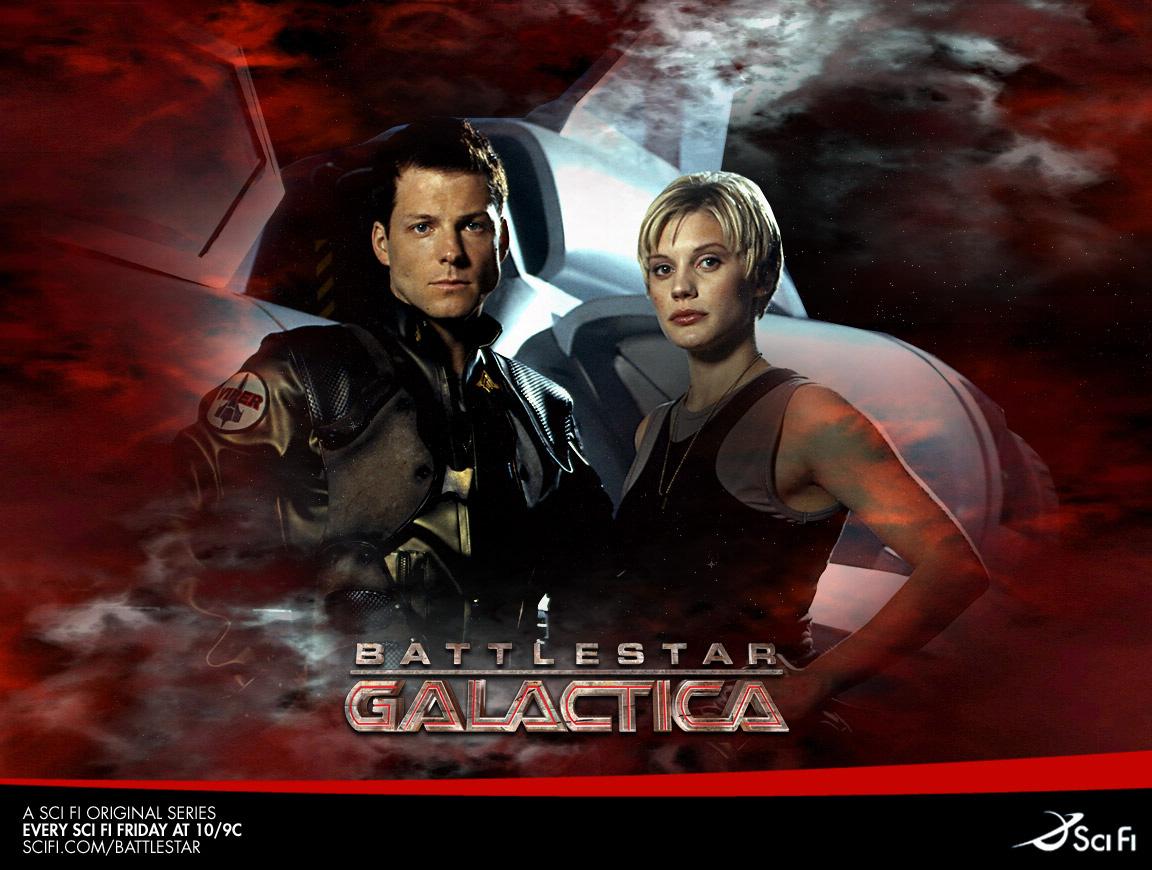 Звездный крейсер Галактика/Battlestar Galactica 2004-2009 (Полная версия)