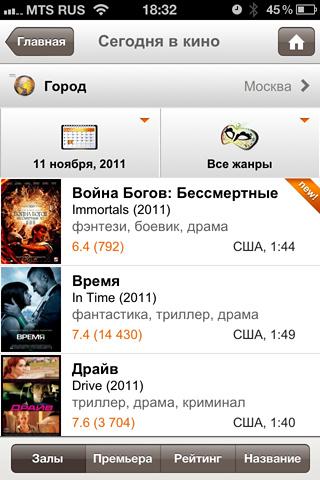 скачать кинопоиск приложение