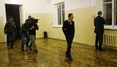 """Идет съемка.  План-схема убийства в туалете, нарисованная раскадровщиком  """"Домового """" Солбоном Лыгденовым."""